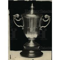 1924 Press Photo St. Thomas Football Trophy - cvb63837