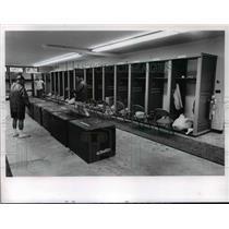 1965 Press Photo Cleveland Browns Training Quarter WRU Campus - cvb57769