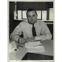 1936 Press Photo Baseball-Billy Evans - cvb58205