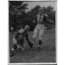 1941 Press Photo Milt Simington, placekicking star from U. of Arkansas
