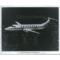 1988 Press Photo Beech 1900 Airplane - orb13592