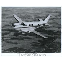 1988 Press Photo Beechcraft King Air C90A - orb13593