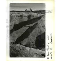 1986 Press Photo Columbia Helicopters Of Aurora Lift 16 Million Board Feet