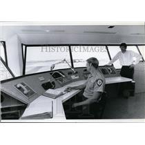1979 Press Photo Modern Equipment-Spokane International Airport Fire Chief .