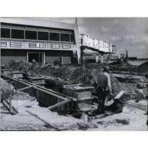 1979 Press Photo Spokane International Airport- parking garage - spa22018