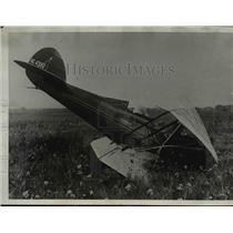 1931 Press Photo Olympic champion sprinter Elizabeth Robinson injured in crash