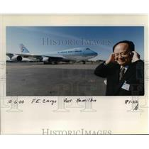 2000 Press Photo Korean Air Cargo - ora99092