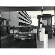 1980 Press Photo Spokane International Airport -new parking facilities.