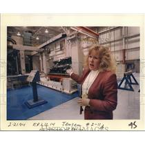 1994 Press Photo Liz Warman of Boeing - ora95705