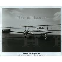 1985 Press Photo Beechcraft King Air-Exec-Liner - mja01485