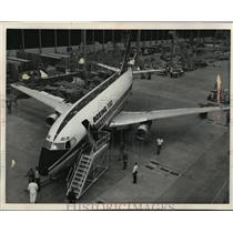 1966 Press Photo The first Boeing 737 short to medium range jet liner