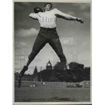 1939 Press Photo Benjamin Mason Sheridan-football player - cvb66278