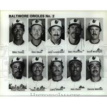 Press Photo The Baltimore Orioles No.2 - cvb66782