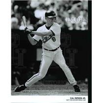 Press Photo Cal Ripkin Jr. of Baltimore Orioles at Bat - cvb66417