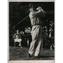 1937 Press Photo Joseph Greene at National Public Links golf San Francisco CA