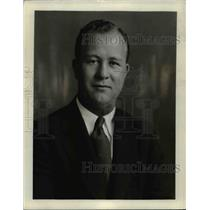 1935 Press Photo Reserve Coach Bill Edwards - cvb66343