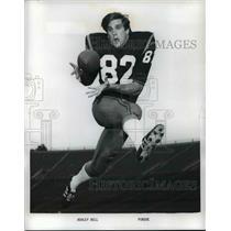 1971 Press Photo Football player-Ashley Bell - cvb67593