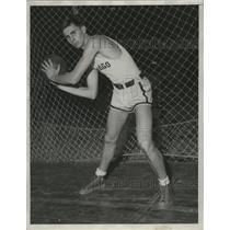 1932 Press Photo University of Chicago basketball center Eldred - nes49769