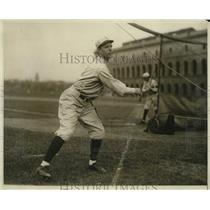 1929 Press Photo Howard Whitmore pitcher of Harvard baseball team - nes49892