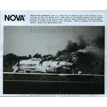 Press Photo NOVA-Why Planes Burn, Air Canada DC-9 - cvb73661