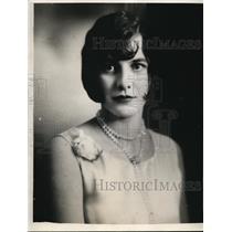 1929 Press Photo Hilda Floe of Randle Washington - ney10422