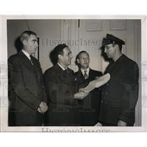 1946 Press Photo New York New York Postal Employees seek wages increase NYC