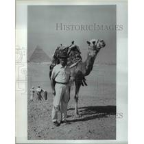 1993 Press Photo Mysteries of the Middle East Mit Professor Woodie Flowers