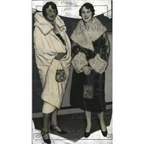 1926 Press Photo Mrs. Charles L. Wirth and Miss Roma Wirth  - mja17539