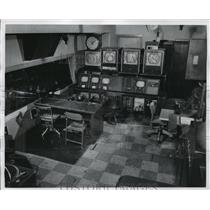 1930 Press Photo Milwaukee Journal TV studios - mja18807