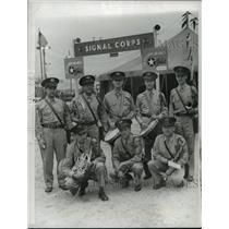 1942 Press Photo Ohio Bondsmen- Army War Show  - cvb71416