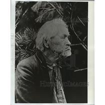 1967 Press Photo Chief Kie-Toos, Wisconsin Potawatomi Chief  - mja06864