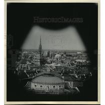 1985 Press Photo Beautiful view of Vienna City - mja03383
