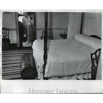 1975 Press Photo George Washington bedroom - Mt. Vernon - mja18980
