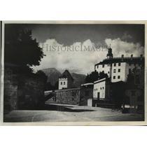 1935 Press Photo Amras Castle, near Innsbruck, Austria - mja03843