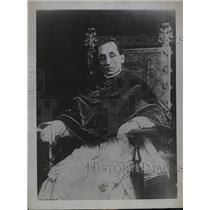 1922 Press Photo Pope Benedict I