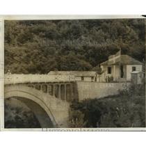 1940 Press Photo Greek outpost in the town of Parati, Albania - mja04551