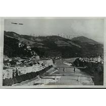 1934 Press Photo Austrian Resort Where Fighting Reported in Salburg - mja04136
