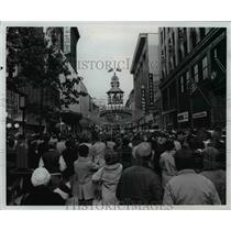1977 Press Photo The Derby clock in Louisville, Kentucky.  - cvb58542