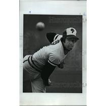 1977 Press Photo Jim Dunn - Four hitter helps Vikings to NorPac title,
