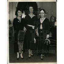 1930 Press Photo New York Junior Comm., Southern Women's Education Alliance NYC