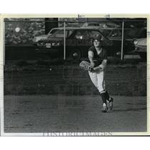 1980 Press Photo Putnam's Sophomore shortstop, Kelly Doherty - orc16158