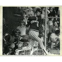 1984 Press Photo Power player Mike Richardson returns at first base. - orc15983