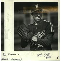 1987 Press Photo Senior Scot Brow will be returning for Hillsboro. - orc16347