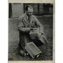 1926 Press Photo Prize-Winning Homestead Farmer Herman Trelle  - nee99257
