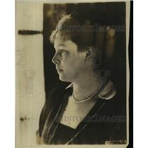 1922 Press Photo Mme Peter wife of Minister from Switzerland aboard steamship