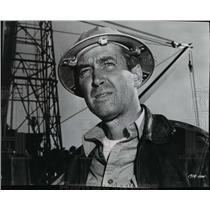"1953 Press Photo James Stewart Stars in the Movie ""Thunder Bay"" - orp28817"
