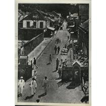 1938 Press Photo The Main Street of Castries, St. Lucia - mjx03011