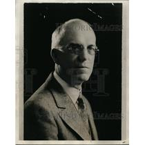 1928 Press Photo Portrait Of Clause Whilmore  - nee94669
