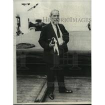 1930 Press Photo Poultney Bigelow, American Historian - mjx01971
