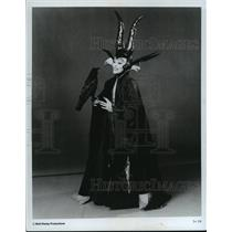 1972 Press Photo Maleficent in Sleeping Beauty on Disney on Parade - cvb75952